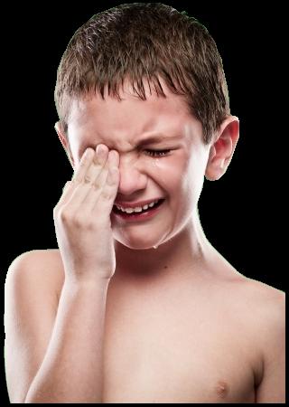 gyermek sír, elvesztek álmai